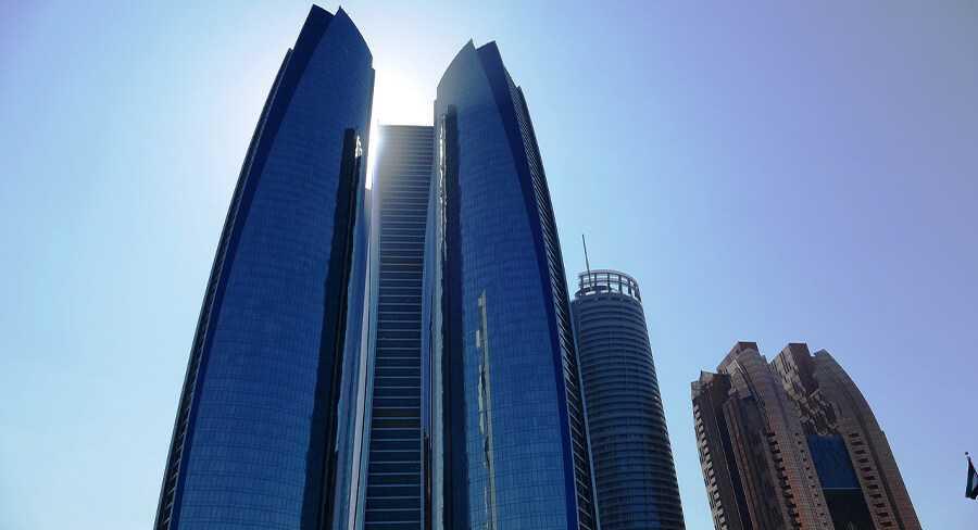 Abu Dhabi-Etihad Tower