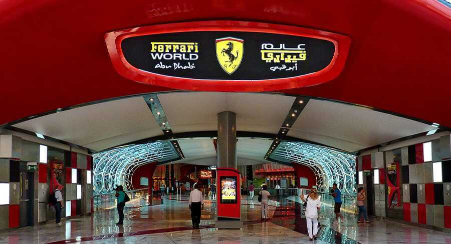 Abu Dhabi-Ferrari World