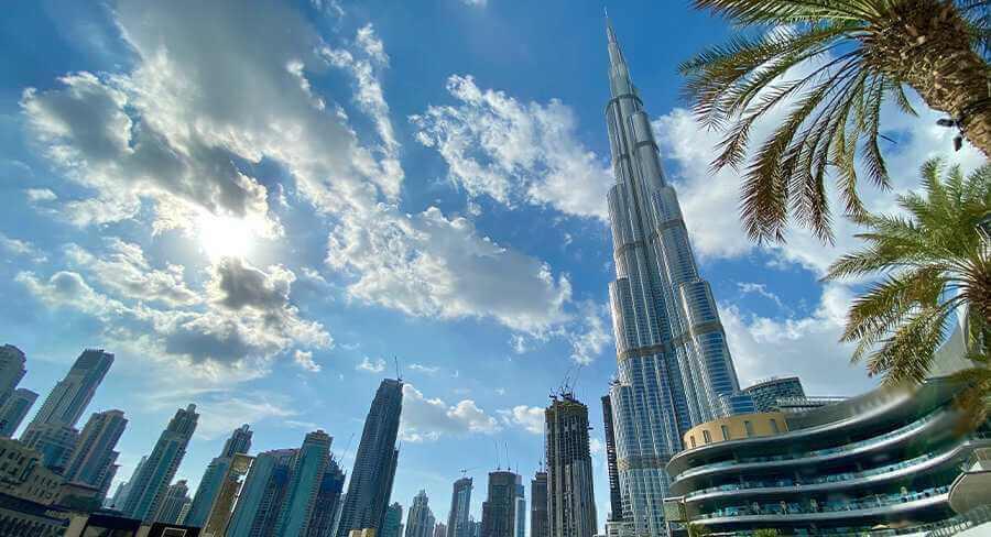 Dubai-Burj Khalīfah